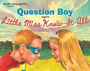Cover art for QUESTION BOY MEETS LITTLE MISS KNOW-IT-ALL