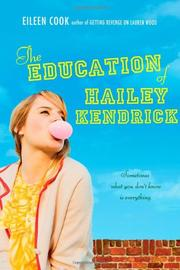 Cover art for THE EDUCATION OF HAILEY KENDRICK