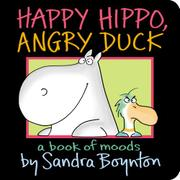 Cover art for HAPPY HIPPO, ANGRY DUCK