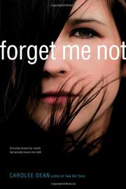FORGET ME NOT by Carolee Dean