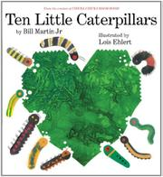 Cover art for TEN LITTLE CATERPILLARS