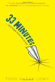 Book Cover for 33 MINUTES