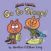 Book Cover for MAX & MILO GO TO SLEEP!