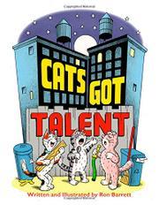 CATS GOT TALENT by Ron Barrett