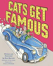 CATS GET FAMOUS by Ron Barrett
