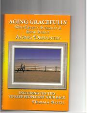 Cover art for AGING GRACEFULLY