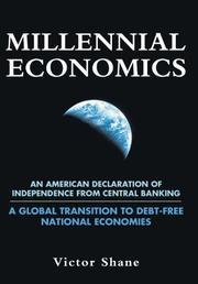 MILLENNIAL ECONOMICS by Victor Shane