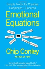 EMOTIONAL EQUATIONS by Chip Conley
