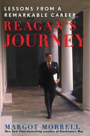 Cover art for REAGAN'S JOURNEY