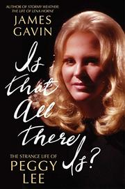 IS THAT ALL THERE IS? by James Gavin