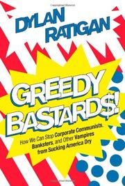 Cover art for GREEDY BASTARDS