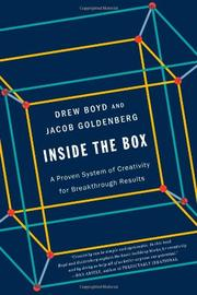 INSIDE THE BOX by Drew Boyd