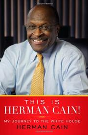 Cover art for THIS IS HERMAN CAIN!