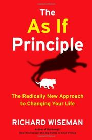 Book Cover for THE AS IF PRINCIPLE