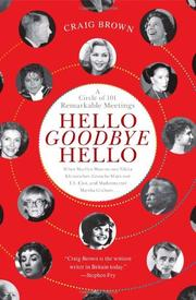 Book Cover for HELLO GOODBYE HELLO