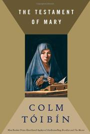 Cover art for THE TESTAMENT OF MARY