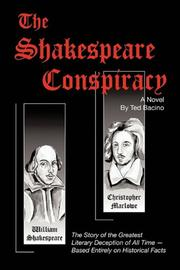 Cover art for THE SHAKESPEARE CONSPIRACY