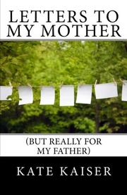 Cover art for LETTERS TO MY MOTHER