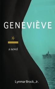 Cover art for GENEVIÈVE