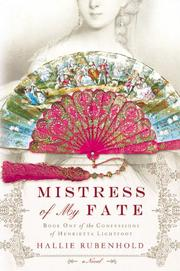 Cover art for MISTRESS OF MY FATE