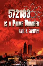 Book Cover for 572183 IS A PRIME NUMBER