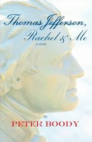 Cover art for THOMAS JEFFERSON, RACHEL & ME