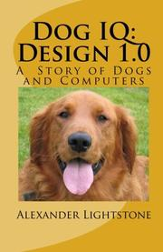 DOG IQ: DESIGN 1.0 by Alexander Lightstone