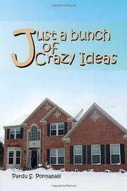 Book Cover for JUST A BUNCH OF CRAZY IDEAS