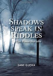 Cover art for SHADOWS SPEAK IN RIDDLES