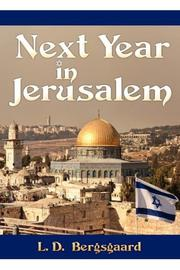 Cover art for NEXT YEAR IN JERUSALEM