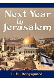 NEXT YEAR IN JERUSALEM by L.D. Bergsgaard