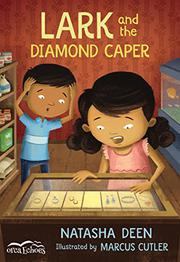 LARK AND THE DIAMOND CAPER by Natasha Deen