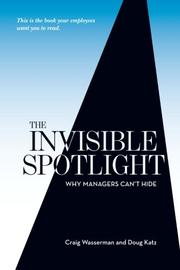 Cover art for THE INVISIBLE SPOTLIGHT