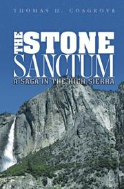 THE STONE SANCTUM by Thomas H. Cosgrove