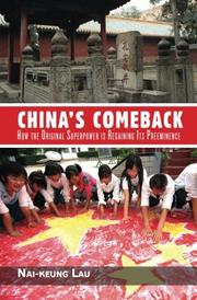 CHINA'S COMEBACK by Nai-Keung Lau
