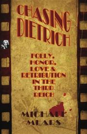 Cover art for CHASING DIETRICH