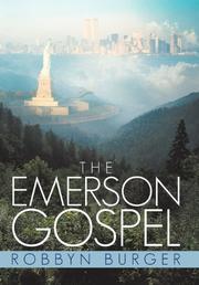THE EMERSON GOSPEL by Robbyn Burger