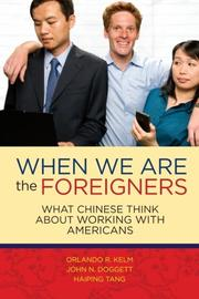 Book Cover for WHEN WE ARE THE FOREIGNERS