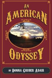 Cover art for AN AMERICAN ODYSSEY