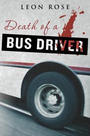 Book Cover for DEATH OF A BUS DRIVER
