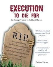 Cover art for EXECUTION TO DIE FOR