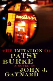 Cover art for THE IMITATION OF PATSY BURKE