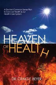 Book Cover for HEAVEN OR HEALTH