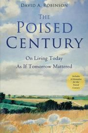 Cover art for THE POISED CENTURY