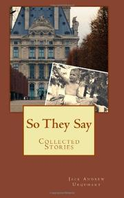 Book Cover for SO THEY SAY