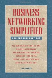Book Cover for BUSINESS NETWORKING SIMPLIFIED