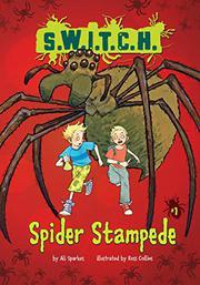 SPIDER STAMPEDE by Ali Sparkes