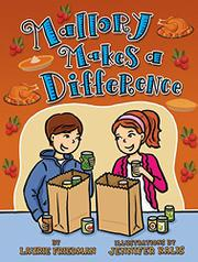 MALLORY MAKES A DIFFERENCE by Laurie Friedman