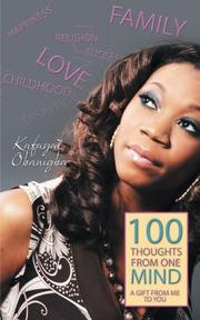 Book Cover for 100 THOUGHTS FROM ONE MIND