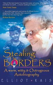 STEALING THE BORDERS by Elliot Rais